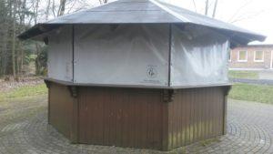 Foto Planen Grillhütte